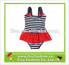 2012 Fringe Design Swimwear For Young Girls