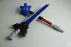 plastic 3D Foam toy stock