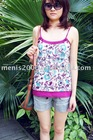 ladies cotton sun-top