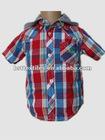 100% cotton yarn dye Children's Shirts