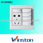 W6E-024 Wall switch and socket