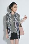Fashion Design Silk Satin Chiffon Digital Print Scarf