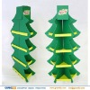 Christmas tree shape food paper display rack