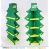 Christmas tree shape food paper display rack