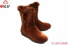 ladies and girl brown waterproof snow boot
