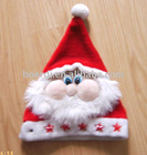 Rpet hot selling Christmas santa hat
