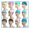 colorful Longlife Silicone Swimming Cap