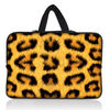 2012 Hot Sell Leopard Pattern Neoprene Novelty laptop Sleeve bag with Handle for Microsoft Surface