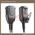 Push to talk, small Lapel PTT button with microphone & Vox mode for 2 way radio #24
