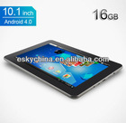 "10.1"" Sanei N10 tablet pc with phone android 4.0 built in 3g android tablet bluetooth gps Camera IPS MID / pc tablet !"