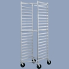Aluminum Pan Rack Cart