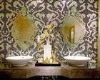 Washing room wall decoration fresh mosaic