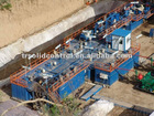 solid control mud tanks system