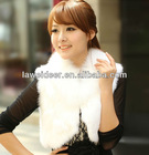 hot selling new style fox fur vest with fox fur collar