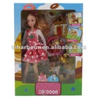 Cute 11.5 Inch Girl Doll With Accessories