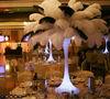 wedding decoration, wedding accessory, wedding centerpieces ostrich feathers
