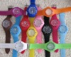 2012 Multi-color silicone sport watch