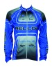 long sleeve bicycle jersey, cycling jersey with sublimation printing