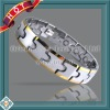 OUB-2109SG Tungsten bracelet with magnets for health care
