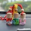wholesale and retail stock hanging car glass perfume bottle
