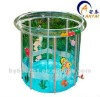 Transparent Baby Plastic Swimming Pools/Kids Bath Tubs