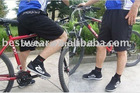 2012 new men black cycling shorts