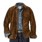 Hot Styles! Washable Men's Genuine Pig Suede shirt