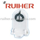 Push through lamp holder(lamp holder,fluorescent lighting fixture)