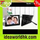 "7"" New design &Christmas acrylic Gift digital photo frame with U disk"