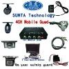 ST503-4 CH CCTV camera Video Input Quad processor splitter for car