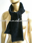 thermal velvet scarf with lace trims