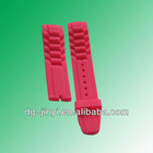 fashionable silicone wrist watch bands