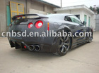 Wide Body Wheel Flare for the Nissan GTR-R35 of bodykit