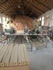 wood pallet feet block press machine