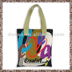 European Canvas Tool Dance Tote Shopping Bag