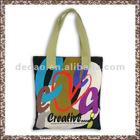 European Canvas Tool Dance Tote Shopping Bag