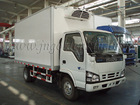 ISUZU refrigerated truck with rolling door
