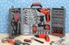 170pcs cordless drill set