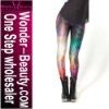 Universe shiny leggings galaxy