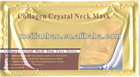 Wholesale Neck Skin Care Gold Mask