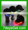 LED Lighted flashing Hat- Black Fabric