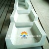 Kiln fusing glass used refractories fused cast azs block