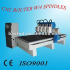 Multi Spindle 3D CNC Router