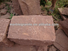 Chinese A Grade Hot Style Outdoor Red Sandstone Cobblestone