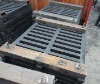heavy duty ductile iron gutter grating
