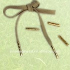 Hot sale !!! 23mm Brass Shoelace tips for shoelace ,cord ,drawstring