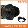 Plastic Screw Mount Flower Lens Hood