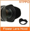 Plastic Screw Mount Flower Lens Hood