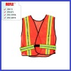Police security reflective vests