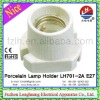 LH701-2A E27 4A 250V White New Durable Glazed lamp holder 4A